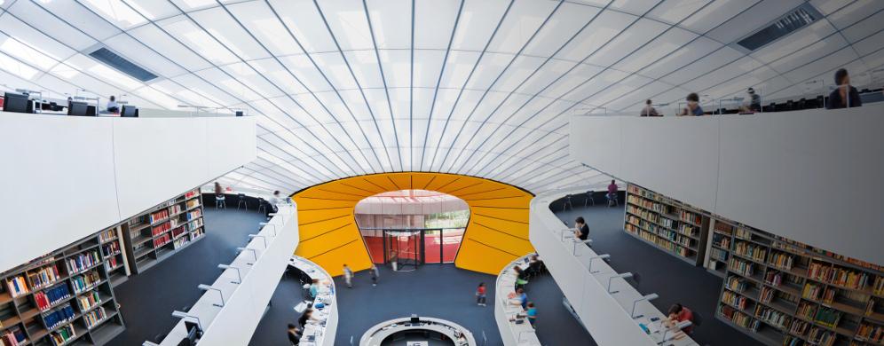 Bibliothek der Freien Universität Berlin. iStockphoto